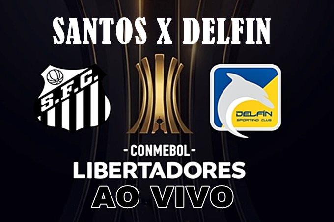 Onde assistir Santos x Delfín ao vivo pela Libertadores. Foto/Divulgação