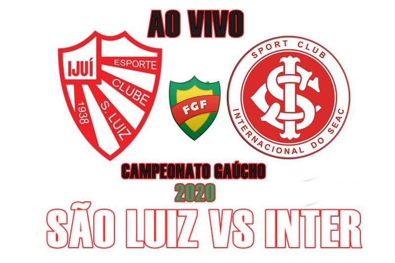 Jogo ao vivo: São Luiz x Inter ao vivo online. Foto: divulgação
