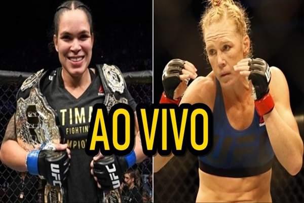 Assistir luta A,manda Nunes x Holly Holm ao vivo online grátis - Foto/Divulgação
