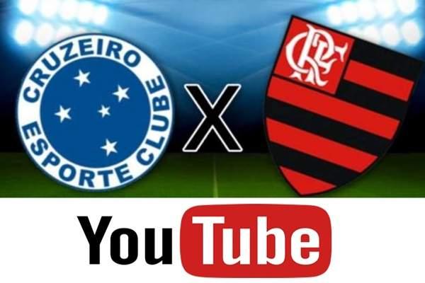 Cruzeiro x Flamengo ao vivo no Youtube: como assistir online jogo